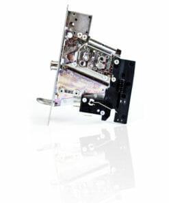 Mechanische Muntautomaat Zijkant