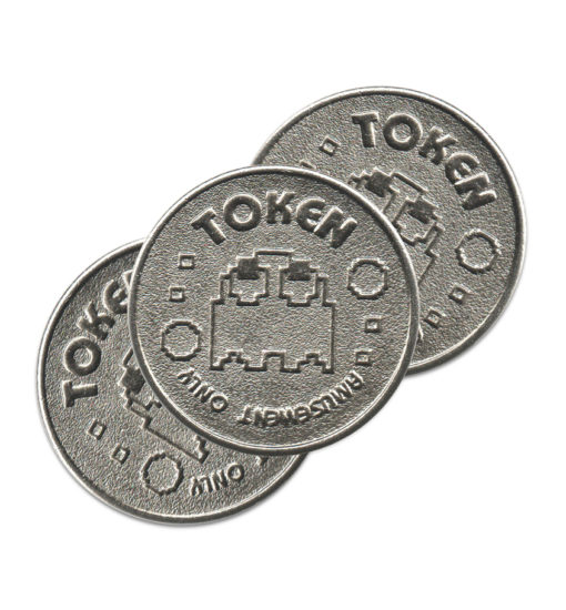 eigen munt bedrukt