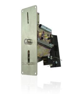 Deze Mechanische Muntautomaat Voor 26mm Vlakke Penningen acceptatie van een 26mm vlakke penning met een dikte van 2,4mm.