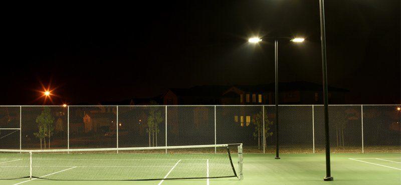 Tennis Verlichting